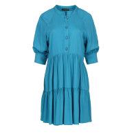Loose Dark Turquoise Ruffle Dress image