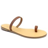 Toe Ring Sandals Até Tan image