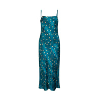 AVALON DRESS TEAL STARS image