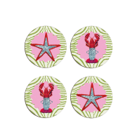 Paint Me In Pink Placemat Set X 4 image