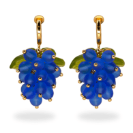 Grape Expectations Clip-On Earrings image