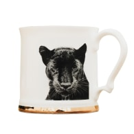 Panther Fine Bone China Tankard Mug image