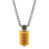 Jet Matte Gold Necklace image