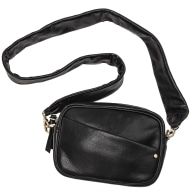 Lucy Leather Bag - Black image