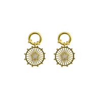 Luminous Star Earrings - Cruise Collection image