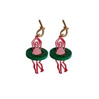 Dancing Girl Stud Earrings image