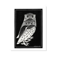 De Graag Owl Fine Art Print A5 image