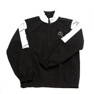 Morton 1/4 Zip Jacket In Black And White image