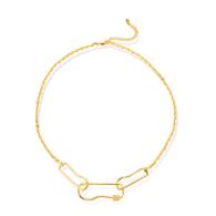 Volute Necklace - 18K Gold Vermeil image