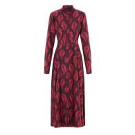 The Coquette Dress | Fallen Fern Burgundy image