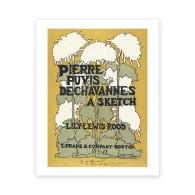 Ethel Reed Pierre Puvis Art Print A4 image