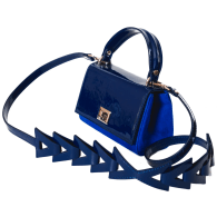 Calfskin & Suede Mini - Blue image
