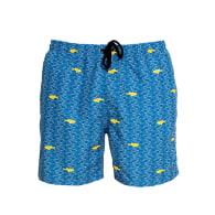 Aulaia X Lorieux - Men's Artistic Swim Shorts - Blue image