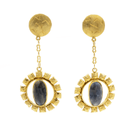 The Sapphire Rays Earrings image