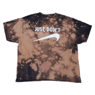 Just Don't - Mega T-Shirt in Bleach Dyed image