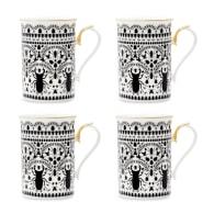 Insect Mandala Coffee Mug - Set Of 4 image