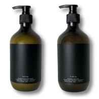 Botanical Hand Wash & Cream Duo - Vetivert Root, Patchouli, Cedarwood image