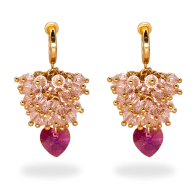Candy Floss Clip-On Earrings image