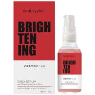 BeautyPro BRIGHTENING Vitamin-C Daily Serum 30ml image