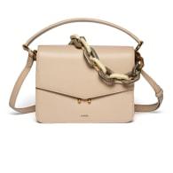 Teca Plexi Chain Bag - Neutrals image