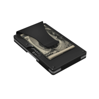 Gunmetal Aluminum GRID Wallet image