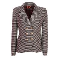 Black Striped Blazer Venice image