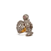 The Goddess Laxmi Statement Ring image