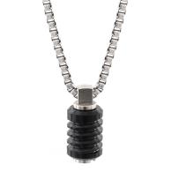 Jet Polished Black Necklace image