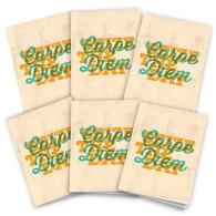Carpe Diem Cards Pack Of 6 image