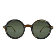 Mulholland Green Round Sunglasses image