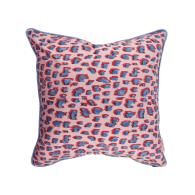 Large Dusty & Candy Cotton Cushion 50 X 50cm image