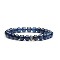 Kyanite Diamond Beaded Bracelet image