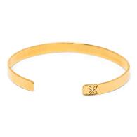 Signature Gold Open Band Bracelet image