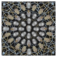 London Silk Scarf Street Art - 140 X 140 cm image