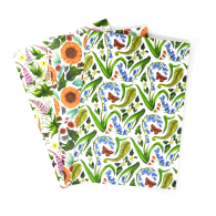 Recycled Floral Notebook Set image