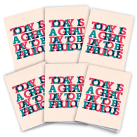 Be Fab Cards Pack Of 6 image