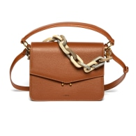 Teca Plexi Chain Bag - Brown image