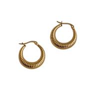 Tilly Gold-tone Hoop Earrings image