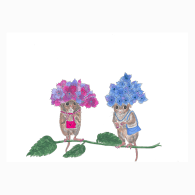 Hydrangea Mice image
