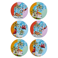 Poolside Glamour Placemat Set X 6 image