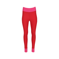 High-Waist Tights Made From Recovered Sea Fishing Nets   Adrenaline Red-Charged Pink image