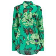 Eugene Shirt In Poison Poppy Print image