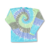 Agonda Long Sleeves Tie Dye T-Shirt Earth Colours image
