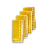 Margaux Yellow Napkin - Set Of 4 image