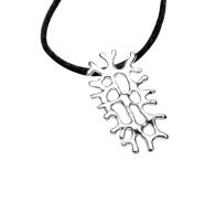 Metis Silver Coral Necklace image