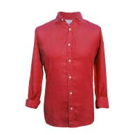 Bourgogne Red Hemp Shirt image