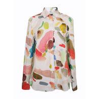 Long Sleeve Shirt in Conversation Print image