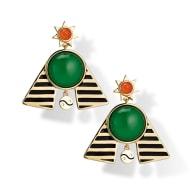 Pharaoh Statement Earrings image
