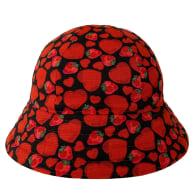 Strawberry Kisses Round Bucket Hat image