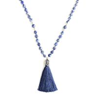 Lapis Lazuli Mala Necklace image